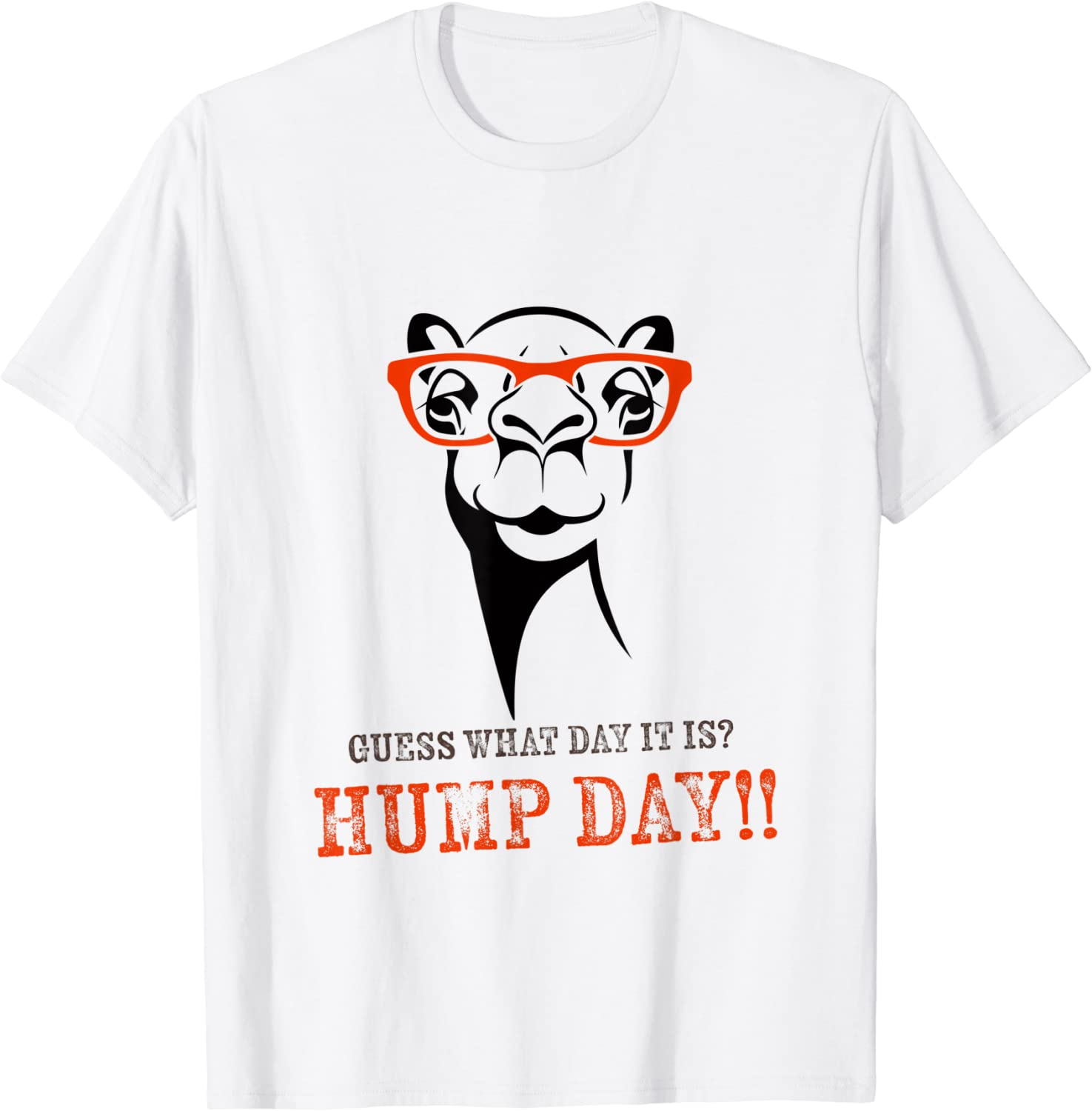 Funny Camel Youth T-Shirt Guess What Day It is Hump Day