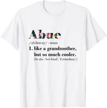 Womens Abue Like Grandmother but So Much Cooler White