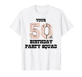 Amazon.com: Camiseta para invitados de 50 cumpleaños I ...