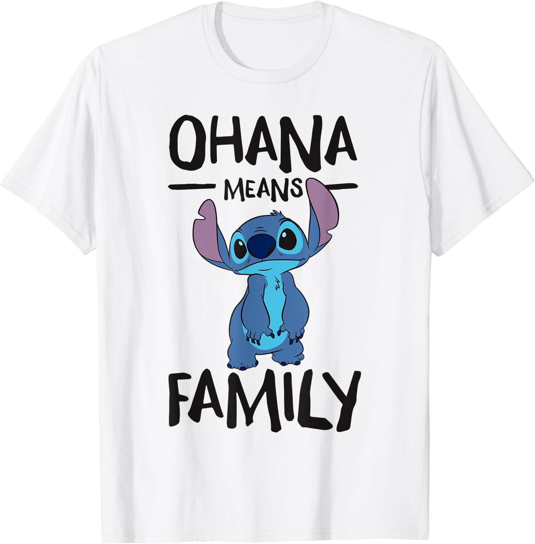 Disney Ohana Means Family Stitch T-Shirt