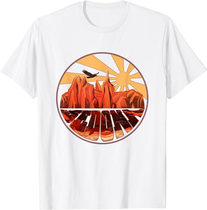 Retro Surprise Arizona Desert Sunset Vintage T-Shirt