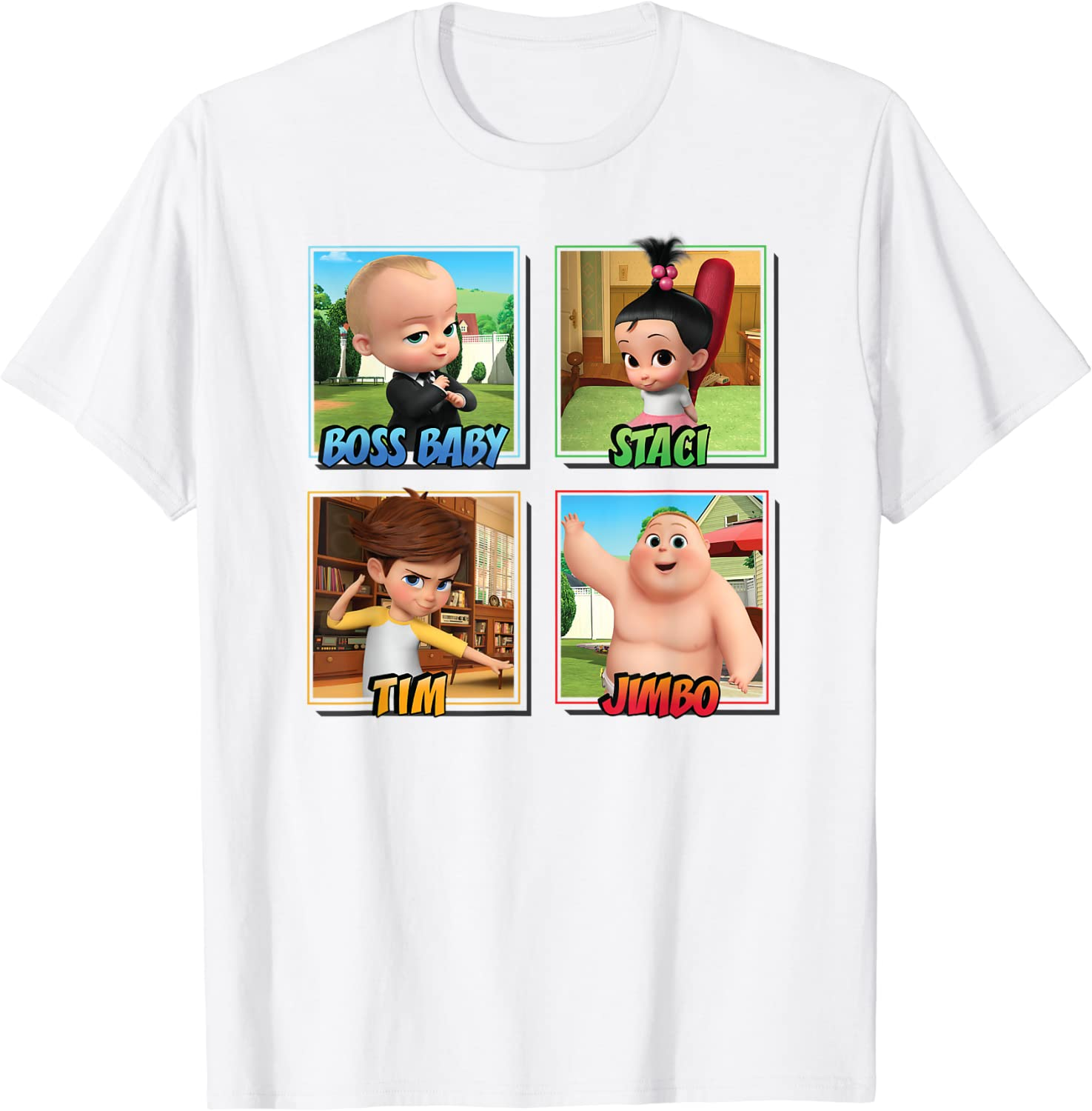 Fort Worth shopping Mall The Boss Baby Squad T-Shirt