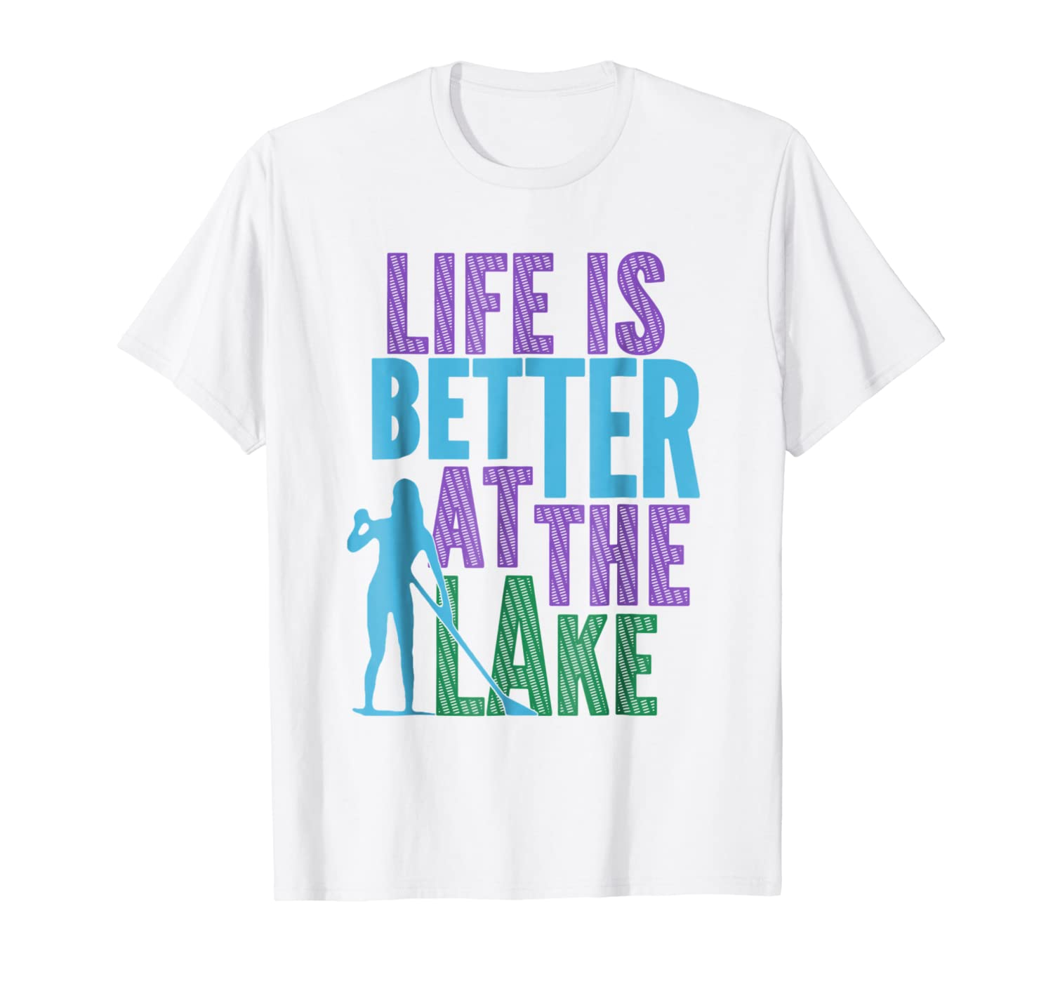 Amazon.com: SUP Yoga Stand Up Paddleboard Life is Better at ...