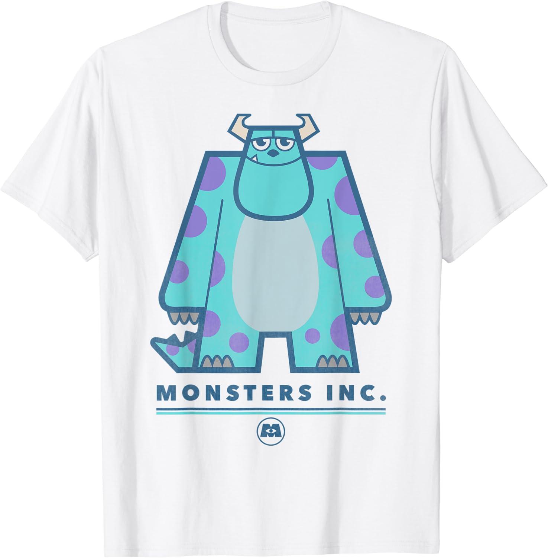 Disney Pixar Monsters Inc. Sully Simple Portrait T-Shirt