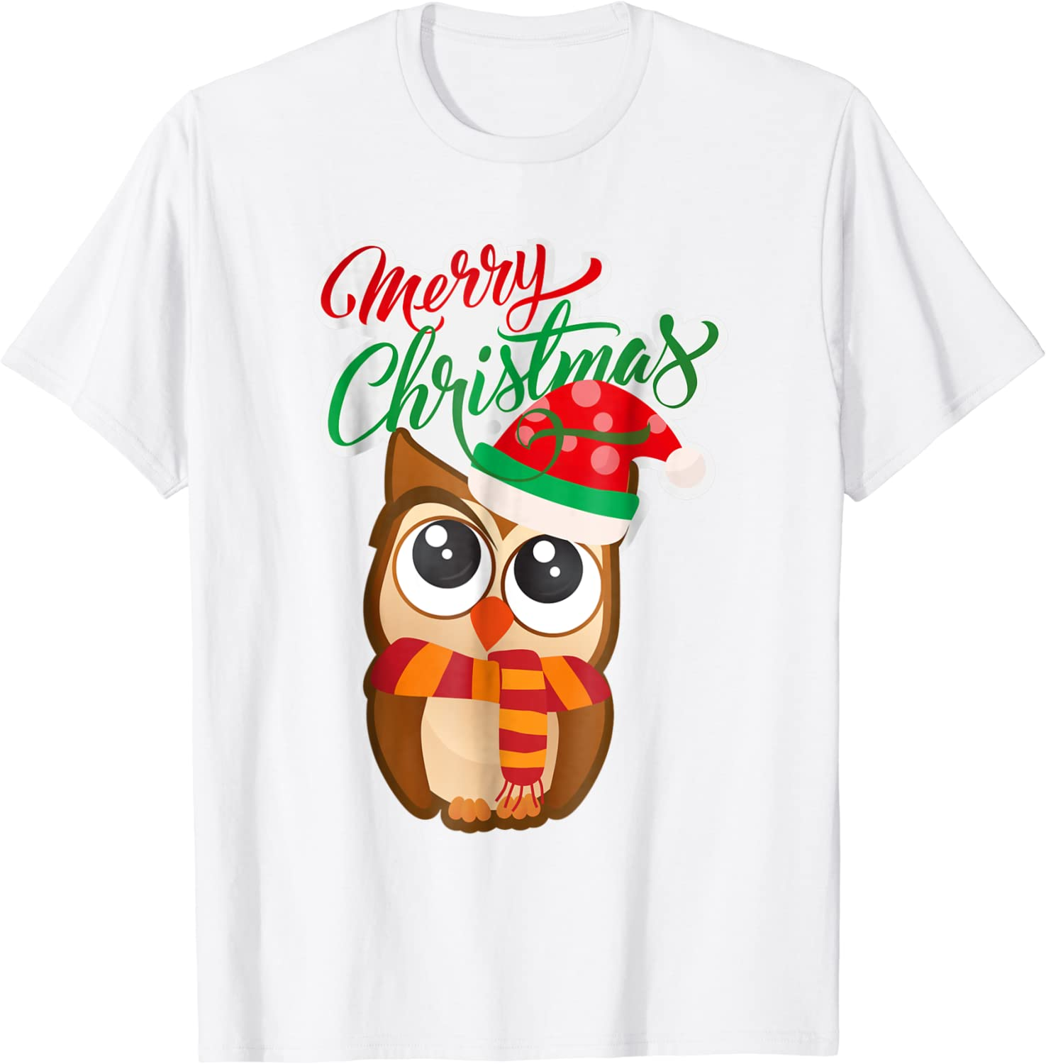 Christmas Owl Unisex Baby Christmas Long Sleeve Shirt Cute Addition to Baby/'s First Christmas 4 Preemie and Newborn Sizes up to 0-3 Months