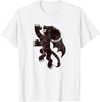 Disney Pixar Onward Manticore's Tavern Crest T-Shirt