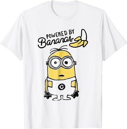 Camiseta Minions Banana Gru  Banana Men in Black Pm010 SIL