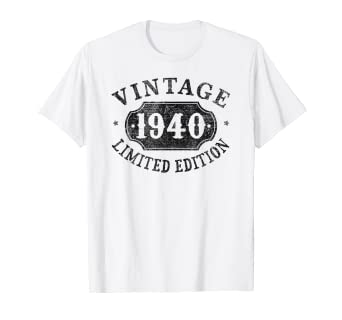Amazon com: 79 Years Old 79th B-day Birthday Gift 1940