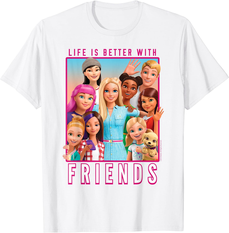 Barbie Dreamhouse Adventures With Friends T-Shirt