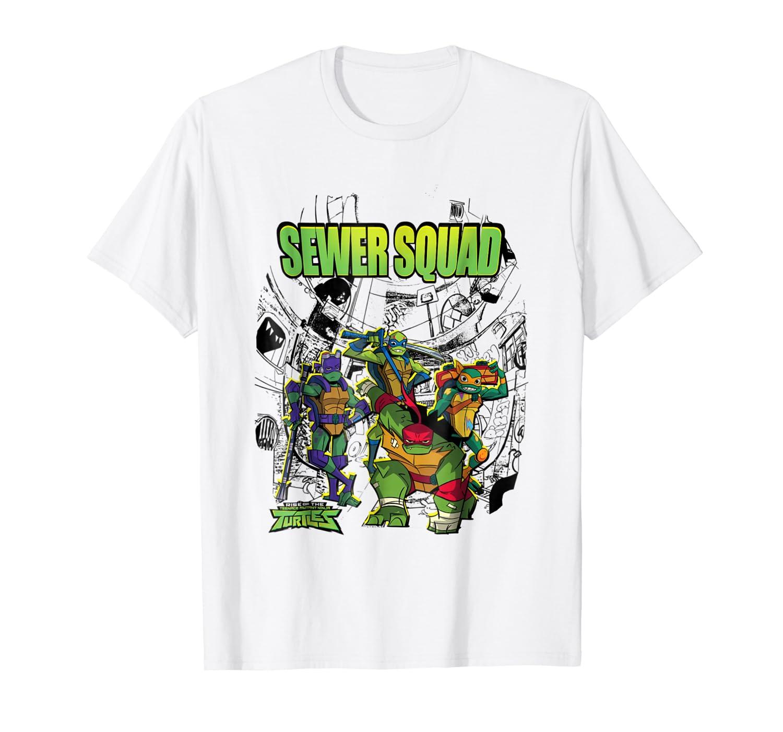 Amazon.com: Rise of The Teenage Mutant Ninja Turtles Squad T ...