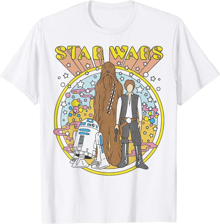 Star Wars Vintage Psych Rebels T-Shirt