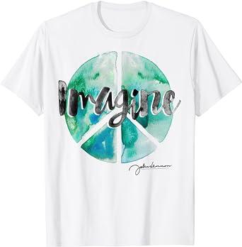 John Lennon - Peace Sign T-Shirt