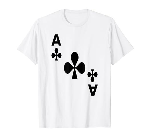Kreuz Karte.Kartenspiel Karte Kreuz As Tshirt Karten Shirts