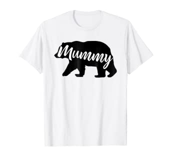 abb9bc74 Image Unavailable. Image not available for. Color: Mummy Bear shirt  Matching Family Shirts Bear tshirts