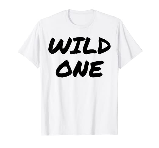 284551e67464 Image Unavailable. Image not available for. Color  Mild   Wild One Best  Friend T Shirts ...