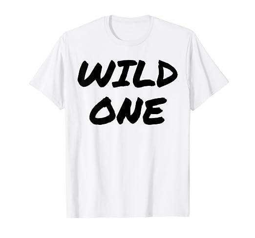 42d3e0ea Amazon.com: Mild & Wild One Best Friend T Shirts - Matching BFF ...