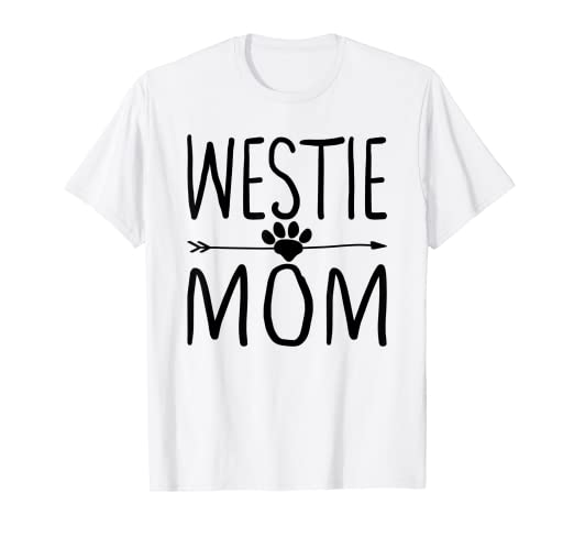 05b1abc6 Image Unavailable. Image not available for. Color: Westie Tshirt Mom  Matching Mother Pajama Dog Mom Shirts