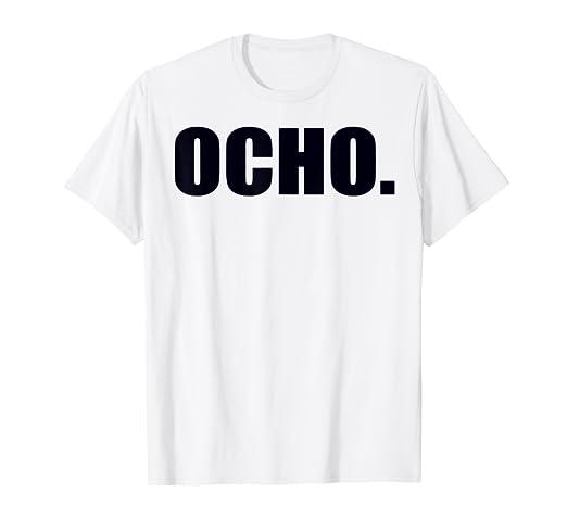Amazon.com: 8th Birthday Shirt - Ocho Anos - Camisa de 8 ...