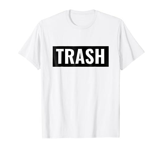 9466bbb0cd3 Amazon.com  White Trash Halloween Costume Shirt  Clothing