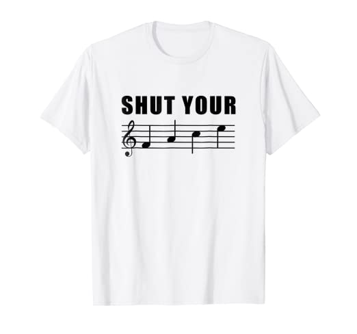 04f85fa7b Image Unavailable. Image not available for. Color: Funny Music Choir  Singing Tee Shirt ...