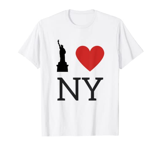 4b58fa0b Image Unavailable. Image not available for. Color: I Love NY, I Love New  York T-Shirt ...