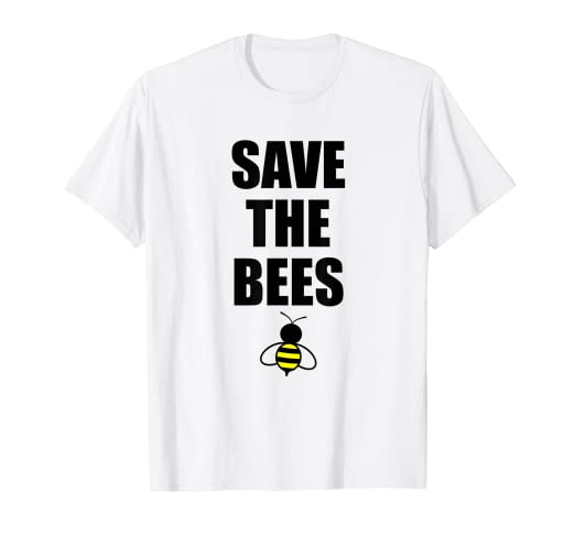 28a8ab3d Image Unavailable. Image not available for. Color: Kids Save the Bees Shirts  - Bee TShirt ...