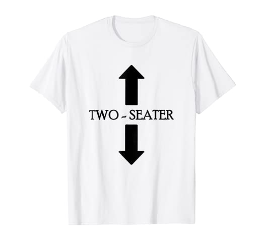 e3f7f0107b Amazon.com: TWO SEATER T-SHIRT TWO-SEATER T-SHIRT: Clothing