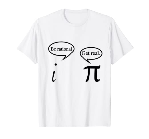 5567f63b8dae Image Unavailable. Image not available for. Color: Funny Get Real Math Geek  T-shirt | Math Teacher ...