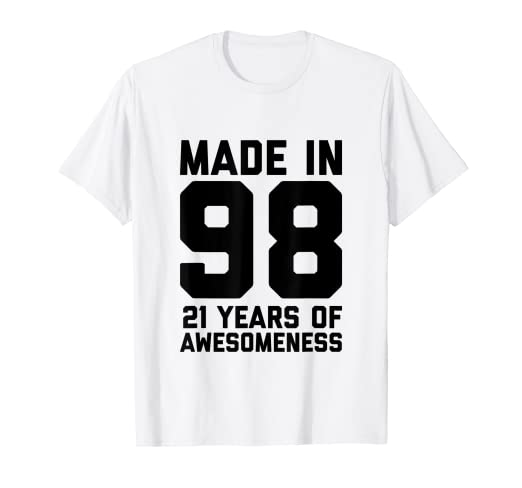 Image Unavailable Not Available For Color 21st Birthday Shirt Girls Gifts 21 Year Old Boys