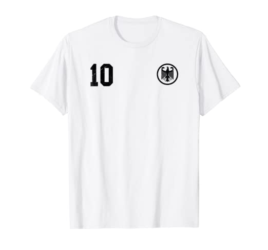 72569c9e7 Image Unavailable. Image not available for. Color  Retro Germany Soccer  Jersey Deutschland T-Shirt 1974