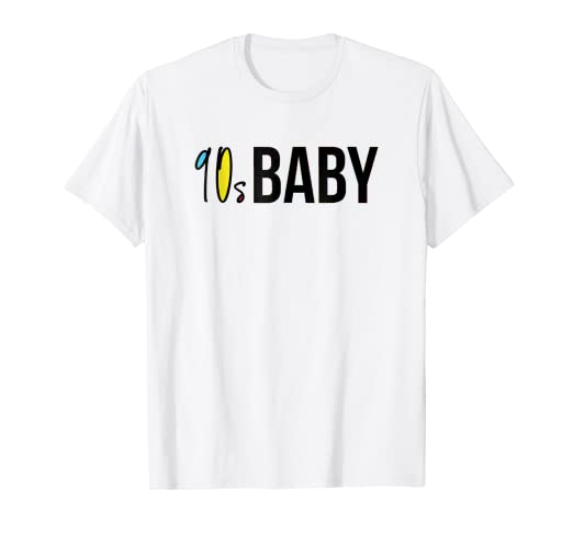 Amazon com: 90s Baby Shirt Retro 90s Party Tee Hip Hop