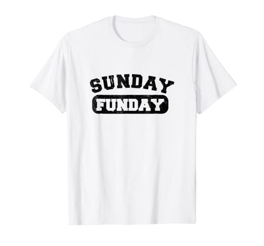 23d7a24be Image Unavailable. Image not available for. Color: Sunday Funday T-Shirt ...