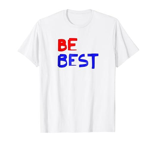 9df31b8cce Amazon.com: Melania Trump Be Best T-Shirt: Clothing