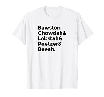 cc7c6865f39 Amazon.com  Bawston Chowda Lobstah Peetzer Beeah Boston Speak T ...