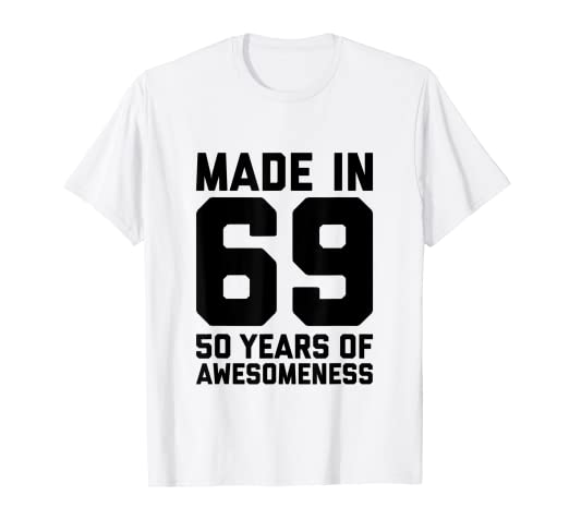 Amazon 50th Birthday Shirt Women Gifts Age Fifty 50 Year Old