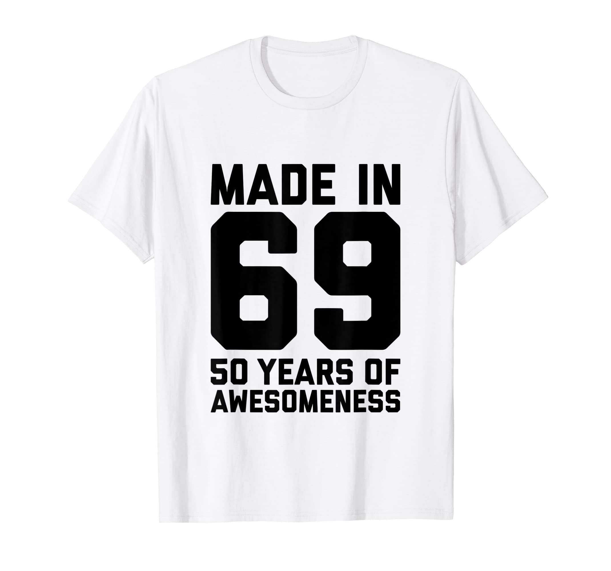 Amazon 50th Birthday Shirt Women Gifts Age Fifty 50 Year Old Men Clothing