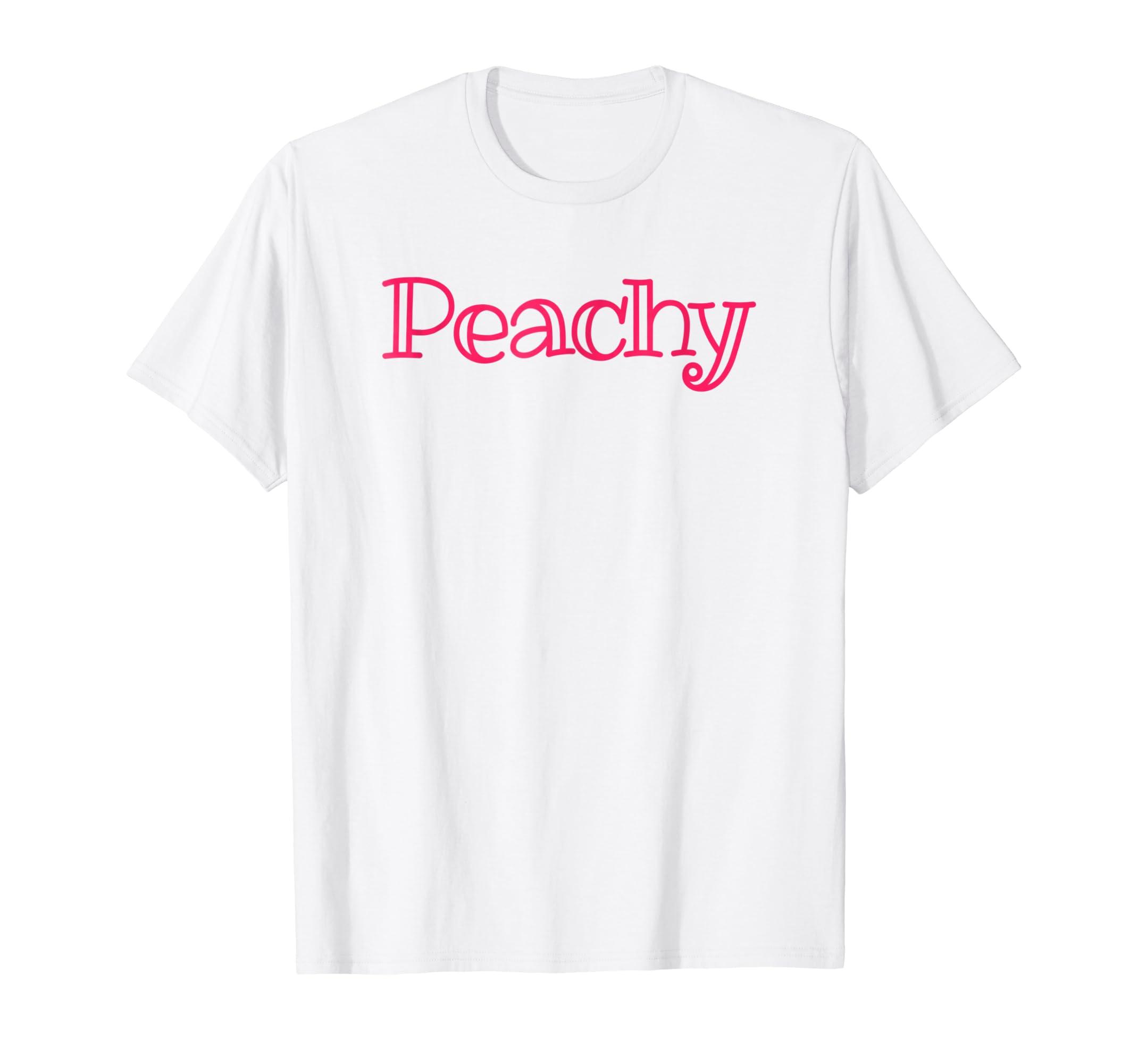 Amazon Peachy Tshirt Cute Retro 60s 70s Hippie Summer Vibe