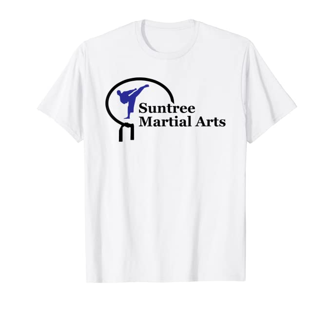 Suntree Martial Arts White Uniform Tee