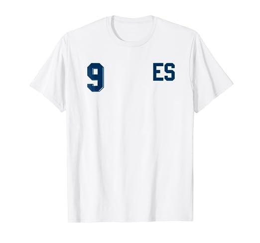Retro El Salvador Soccer Jersey Camiseta de Futbol Away 9