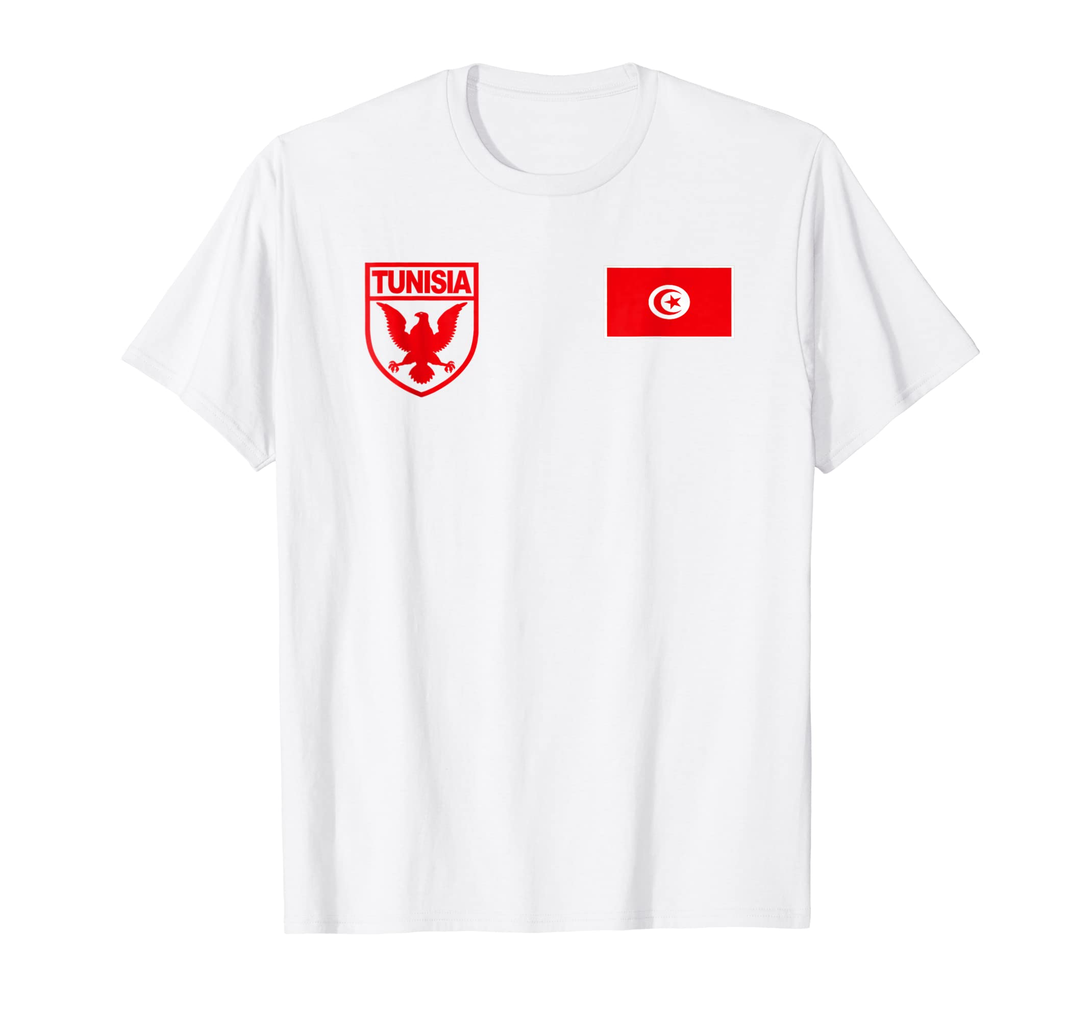 info for 594ec 0f9a6 Amazon.com: Tunisia Futbol Soccer Jersey Tshirt: Clothing