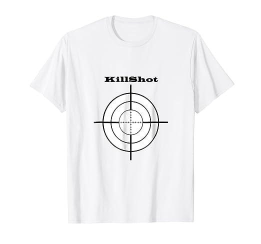 2e8e31c22705d Amazon.com: KILLSHOT TEE T-SHIRT MAN WOMEN: Clothing