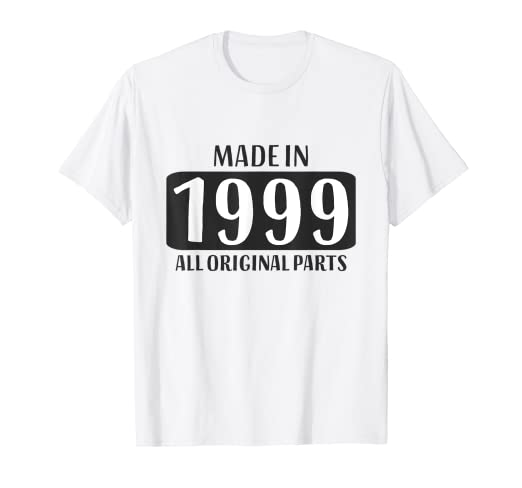 Amazon 20th Birthday Shirt Girls Boys 20 Year Old Daughter Son