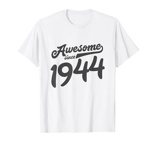 Amazon 75th Birthday Shirt For Women Age 75 Year Old Grandma