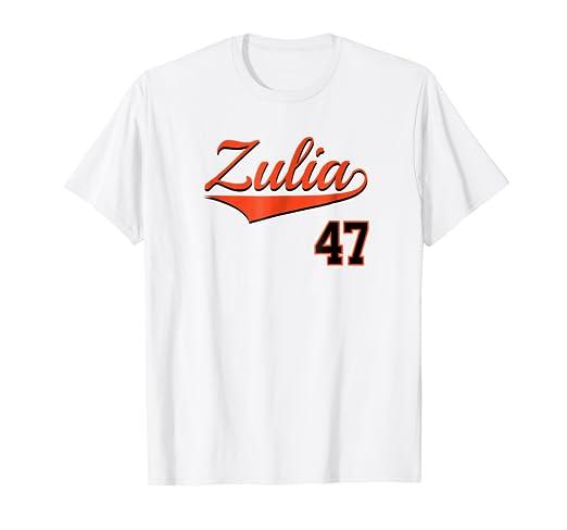 Zulia Baseball Jersey T-Shirt Beisbol Venezuela Maracaibo 47