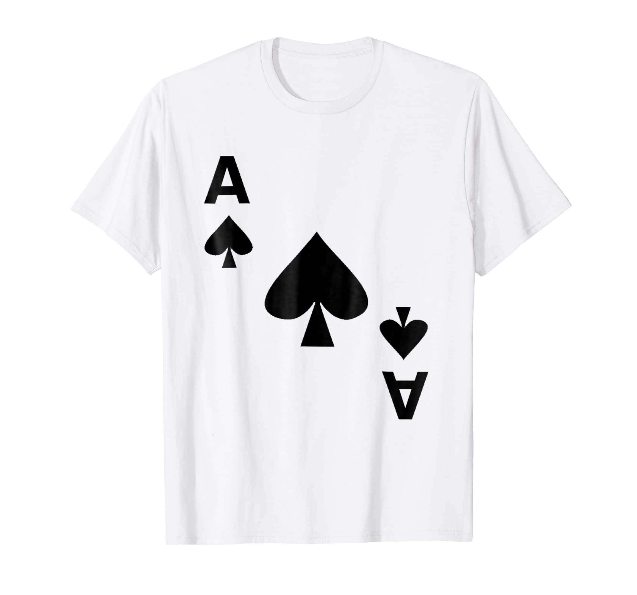 Ace of Spades T Shirt Halloween Deck Card Costume Matching-Teechatpro 27d4e5314