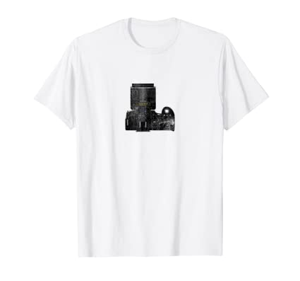 DSLR Digital Camera Top View T Shirt for photo enthusiasts