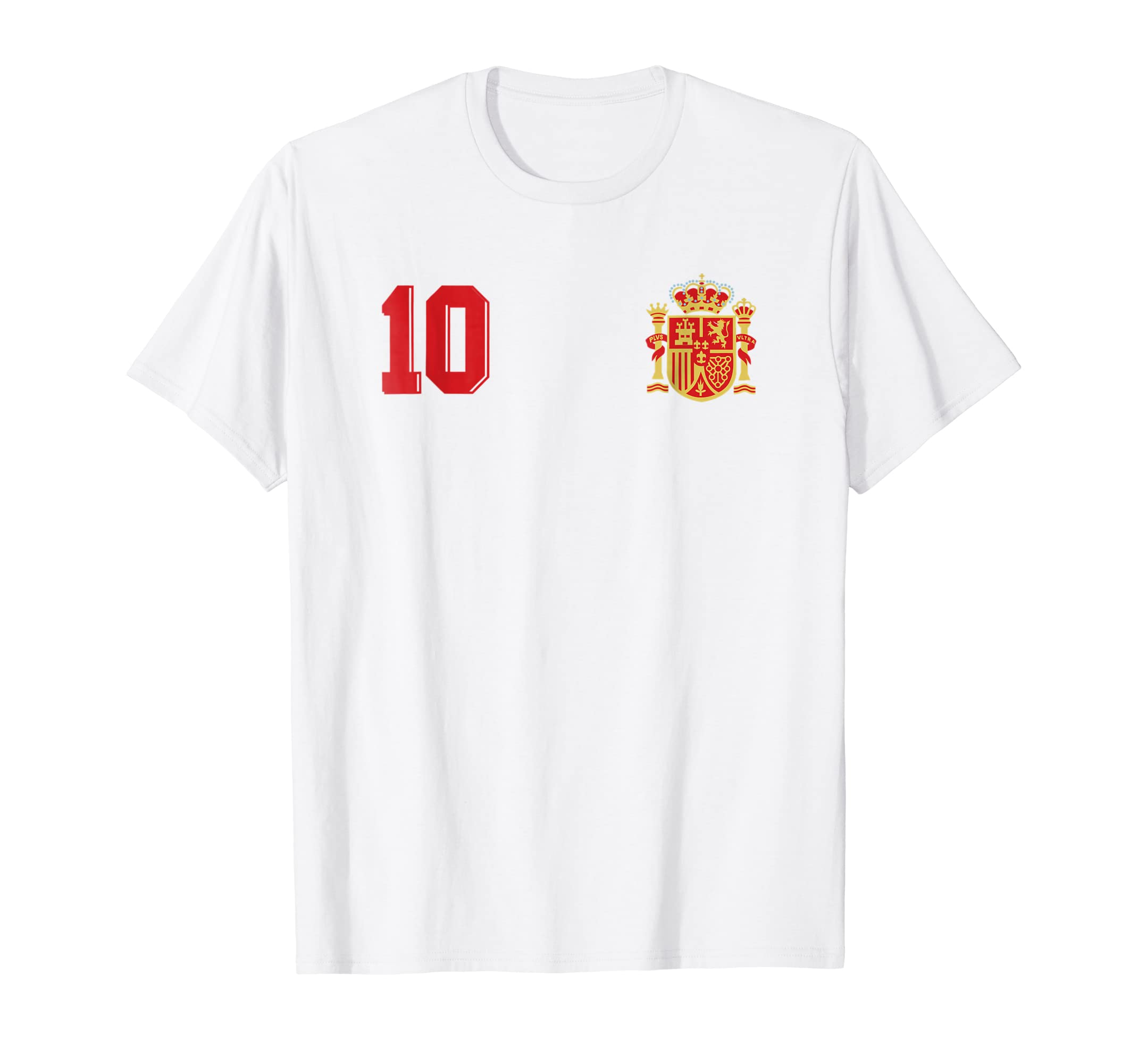Amazon.com: Camiseta Espana Futbol Retro Spain Football Soccer T-Shirt: Clothing