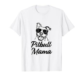 20f59640388 Amazon.com  Proud Pitbull Mom Shirt - Pittie Mom