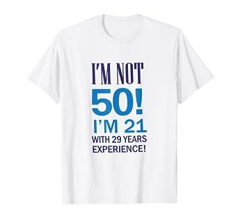 Amazon FUNNY 50TH BIRTHDAY T SHIRT MENS WOMANS Clothing