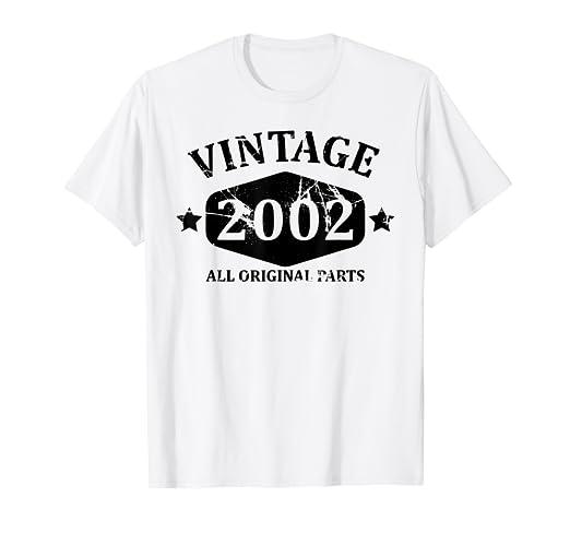 324122419 Amazon.com  Funny Vintage 2002 17th Birthday Gift T-shirt Best Emoji ...